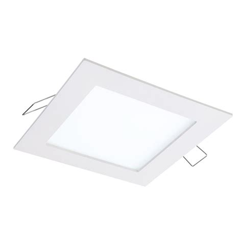 led lighting in kitchen halo smd dm 4 85 in lens white square integrated led 6930