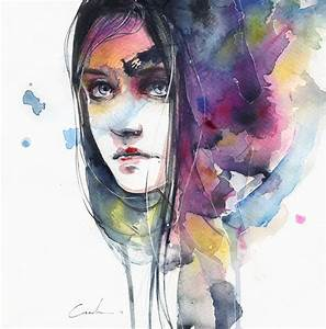 Using Only Watercolors, Artist Paints Breathtaking Faces ...