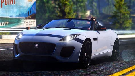 Jaguar F Type Sound by Jaguar F Type Project 7 Engine Sound Gta5 Mods