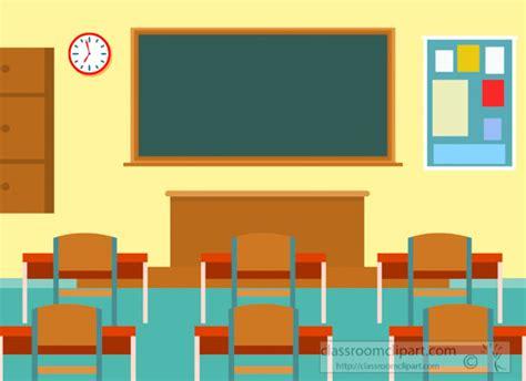 Flat-illustration-of-interior-school