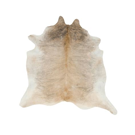 Southwest Rugs Extra Large Light Brindle Tan Cowhide Rug