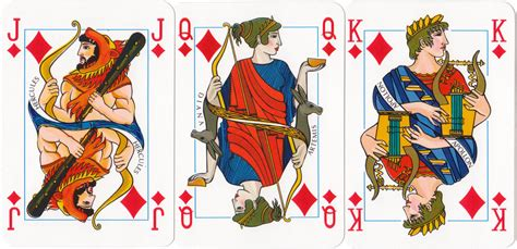 greek mythology  world  playing cards