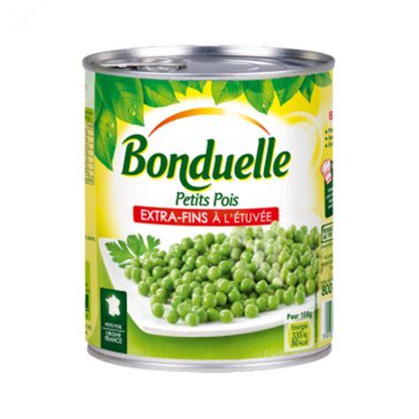 cuisiner petit pois en boite petits pois fins a l etuvee les bons produits bonduelle