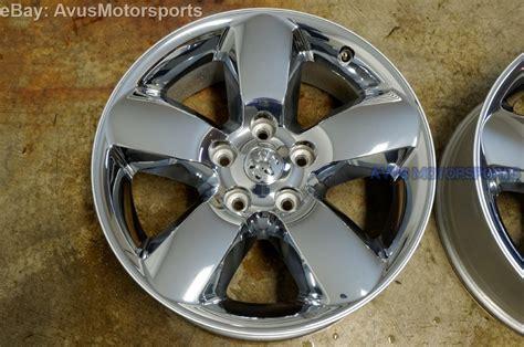 dodge ram  oem  factory chrome clad wheels dakota