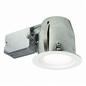 Bazz in white recessed lighting fixture designed for