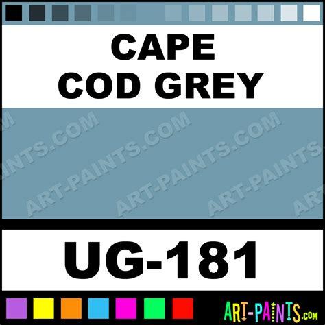 cape cod grey non toxic opaque ceramic paints ug 181