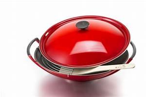 Wok Le Creuset : le creuset wok rva gourmet style widely red pinterest ~ Watch28wear.com Haus und Dekorationen