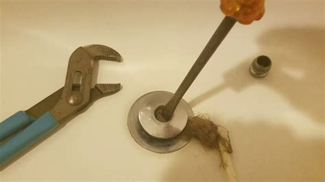 Remove Sink Stopper Moen by How Remove Moen Tub Stopper And Unclog Tub Drain