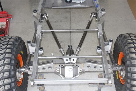 jeep tube chassis jeep yj rear frame back half kit