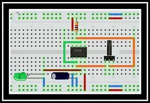Circuito Astable Con C I 555