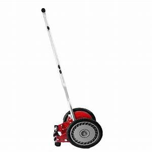 14 In  Wide 5 Blade Reel Lawn Mower Cutter Adjustable