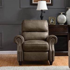 Manual Recliner Chair - Push Back Reclining Armchair