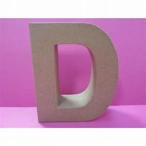 Lettre En Carton À Peindre : lettre en carton d 1 polystyr ne ~ Nature-et-papiers.com Idées de Décoration