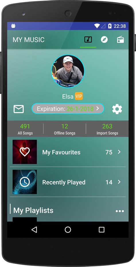 toolbar for android joox app tab toolbar part 1 android development