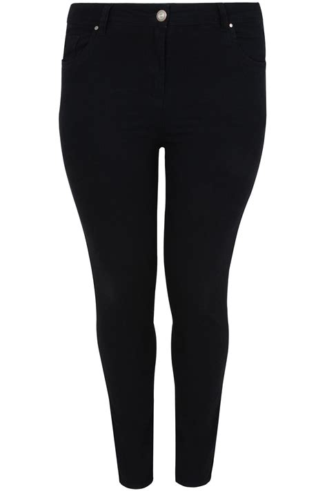 Date Post Jenny Template Responsive by Black Skinny Ava Jeans Plus Size 16 To 32