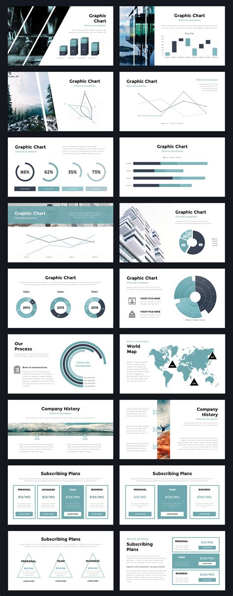 portal modern powerpoint template thrivisualy