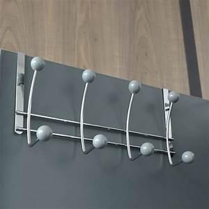 Patère à Suspendre : pat re suspendre 8 boules gris rangement eminza ~ Teatrodelosmanantiales.com Idées de Décoration