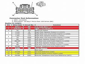 Chevy Factory Stereo Wiring Diagrams