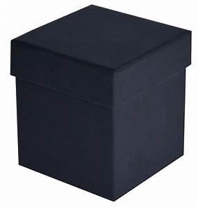 Luxury Matt Black Candle Box 85 X 85 X 95mm  Mmbl85
