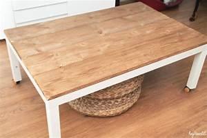 Table De Salon Ikea : hey deer lili retaper un basique la table basse ikea ~ Dailycaller-alerts.com Idées de Décoration