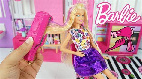 Barbie Ondas E Cachos Kit Para Os Cabelos Da Boneca Barbie