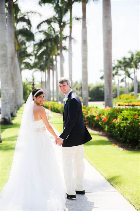 preppy palm beach wedding nico  lala