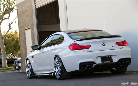 stunning alpine white bmw  gran coupe  arkym body