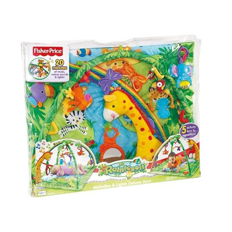 tapis eveil jungle rainforest fisher price frais de port offerts