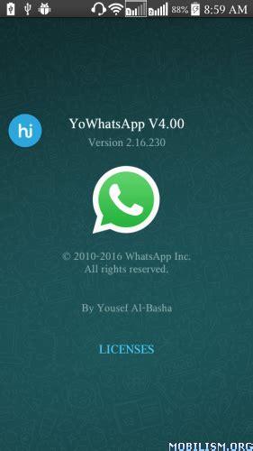 yowhatsapp apk android alternativa a whatsapp per android