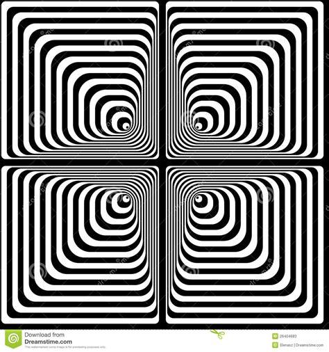 het optische effect van vasarely vector illustratie