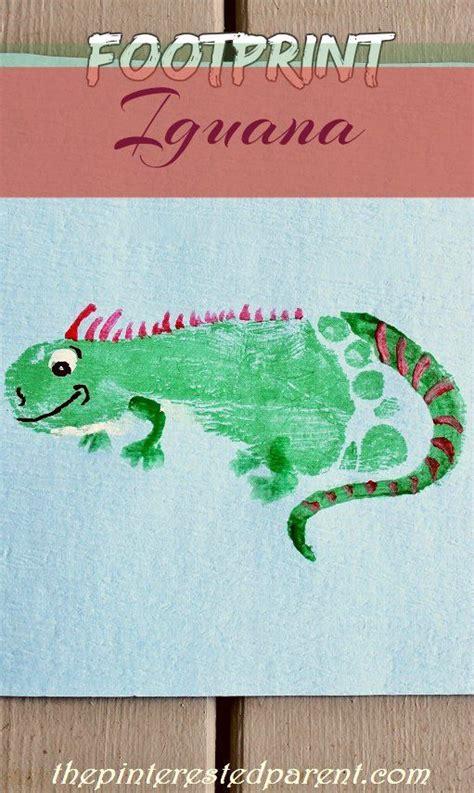 footprint iguana craft footprint animals from a z i is 776   555940ccc50ae8b186ff9918e2c270fc