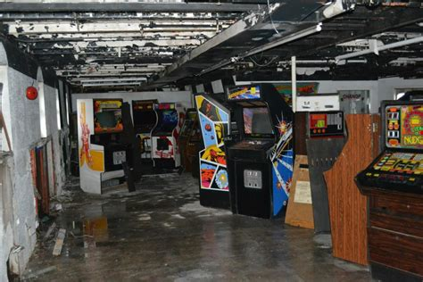 50 Classic Arcade Games Saved From Derelict Cruise Ship