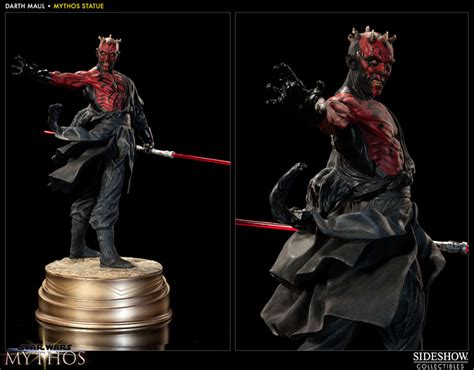 Star Wars Darth Maul - Mythos Polystone Statue by Sideshow ...