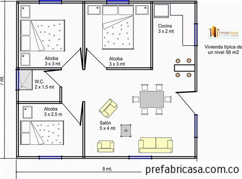 8x7 garage casas prefabricadas 56 mts casas prefabricadas