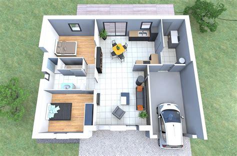 plan maison plain pied 2 chambres garage plan maison plain pied 2 chambres garage madame ki