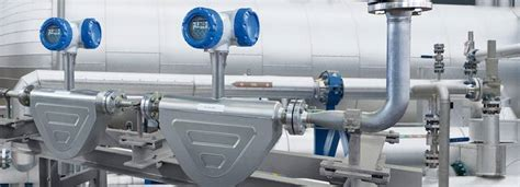 Coriolis Mass Flowmeter Optimass 6400 Product Highlights