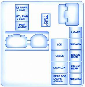 Buick Enclave 2012 Relay Fuse Box  Block Circuit Breaker Diagram  U00bb Carfusebox