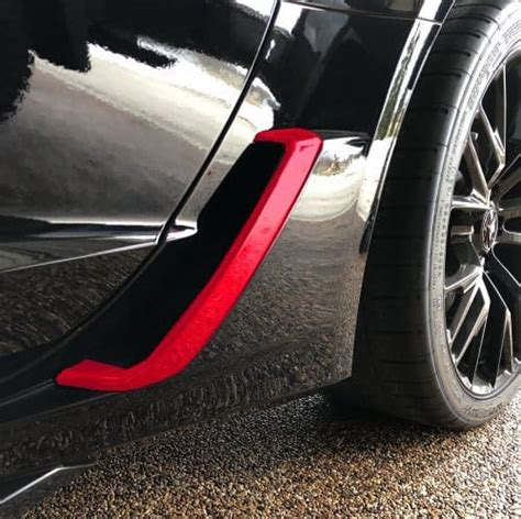 painted brake duct scoop covers southerncarpartscom