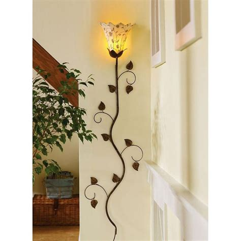 wall lighting find tulip or petal shape sconce and paint
