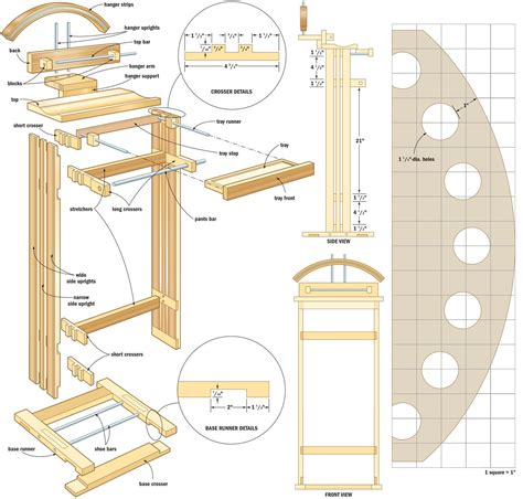 projects  woodworking blueprints  step