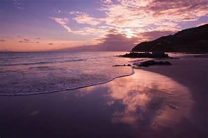 Pink Cloud Beach Sky Sea Backgrounds