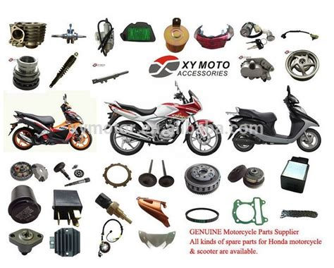 All Kinds Of Motorcycle Parts For Honda Motorcycle Body