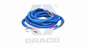 Graco 50ft Heated Hose With Fts Cable  2000 Psi