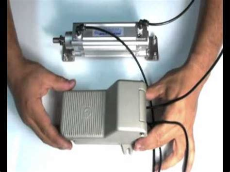 Series Fsg Way Position Foot Operated Valve Youtube