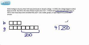 Ratio Problems  Module 1 Grade 6