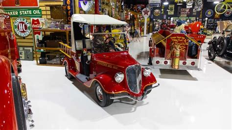 street rod fire truck golf cart   eddie
