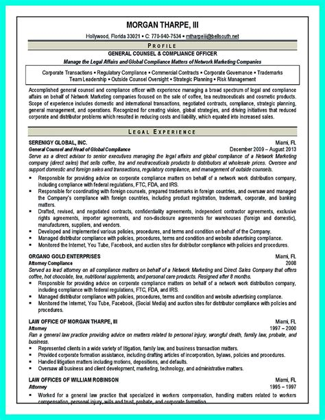 compliance officer resume   managers attention