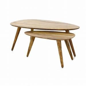 Table Salon Gigogne : tables gigognes en bois palissandre style vintage zago store meubles salon pinterest ~ Dallasstarsshop.com Idées de Décoration