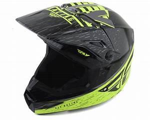 Fly Racing Youth Helmet Size Chart Fly Racing Kinetic K120 Youth Helmet Hi Vis Grey Black