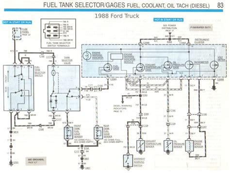 Ford Fuel Tank Selector Valve Wiring Diagram by Fuel Level No Longer Working Diesel Truck Forum